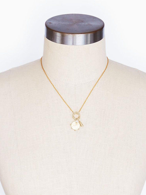 31 Bits - Adrift Charm Necklace (Gold)