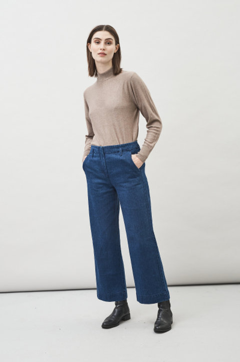 Maska - Leja Demin Trousers (Blue)