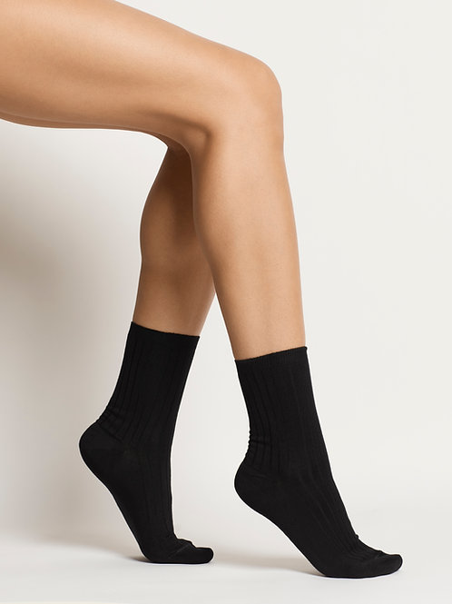 Woron - Organic Cotton Socks (Black)
