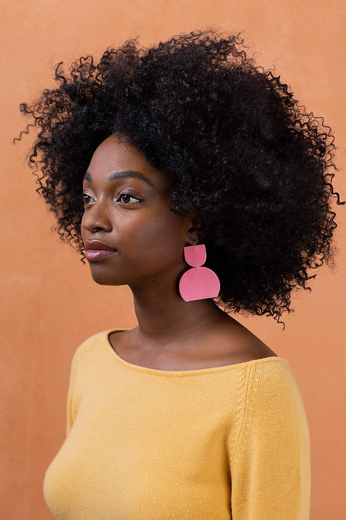 Dear Survivor - Petra Earrings (Pink)