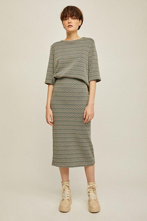 Rita Row - Iris Knit Skirt (Multicolor)