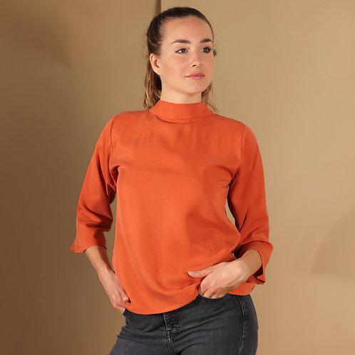 ManduTrap - Juma Tencel Shirt (Rost)