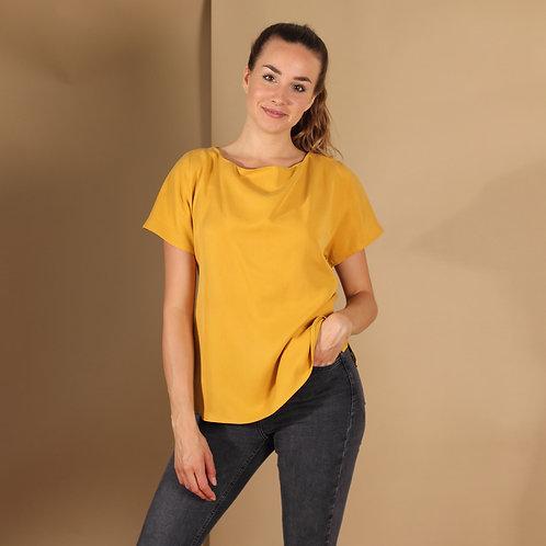 ManduTrap - Frida Tencel Shirt (Senfgelb)