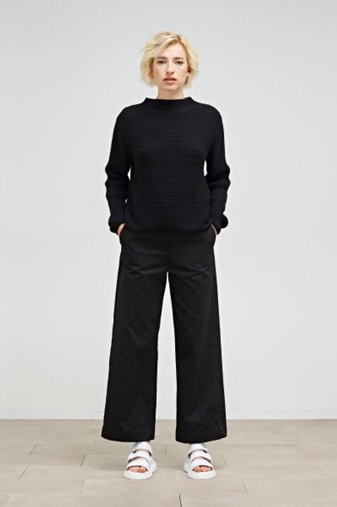 Maska - Angela Ribbed Sweater (Black)