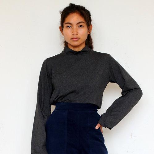 ManduTrap - Dina Shirt (Grey Melange)