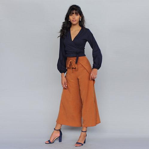 ManduTrap - Leera Tencel Pants (Cognac)