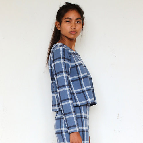 ManduTrap - Puri Pullover (Light Blue)