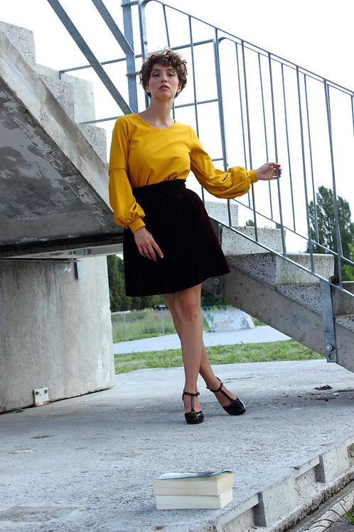 ManduTrap - Caro Pullover (Yellow)