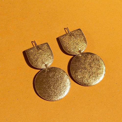 Dear Survivor - Mocu Earrings (Gold)