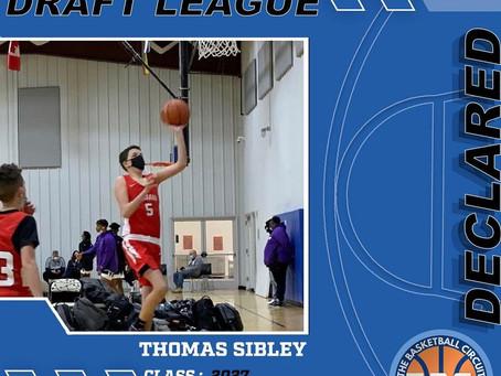 Thomas Sibley Declares for KB3 Draft