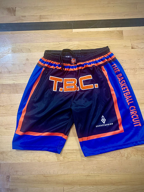 T.B.C. Gameday Shorts - Black / Blue