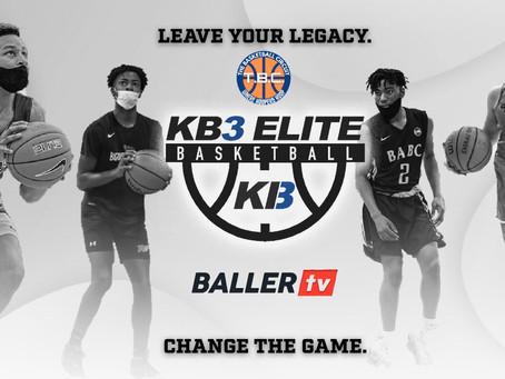 TBC KB3 Summer Draft League Partners with BallerTV
