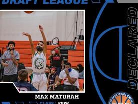 Max Maturah Declares for KB3 Draft