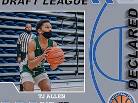 TJ Allen Declares for Summer Draft League