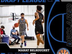 Marat Belhouchet Declares for KB3 Summer League Draft