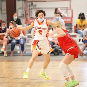 Lions and Team Synergy will face off in the T.B.C. WNBA girls varsity division Championship Sunday.