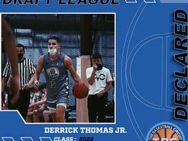 Derrick Thomas Jr. Declares for KB3 Draft