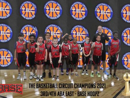 Base Hoopz Captures T.B.C. ABA East Division Championship