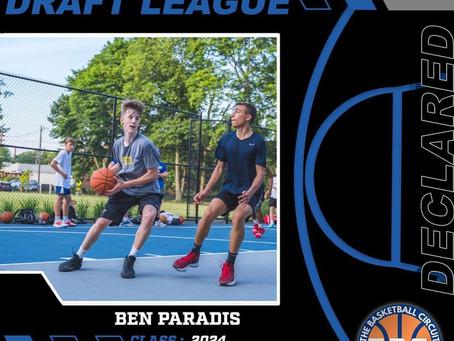 Ben Paradis Enters KB3 Draft