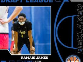 Kamari James Declares for KB3 Draft