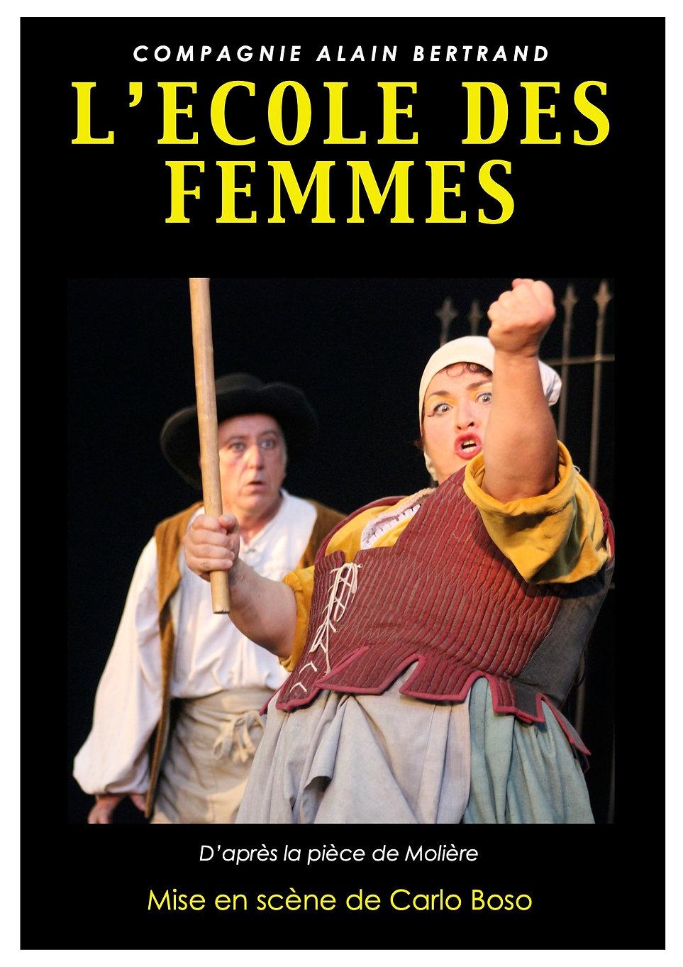Afiiche ECOLE DES FEMMES  .jpg