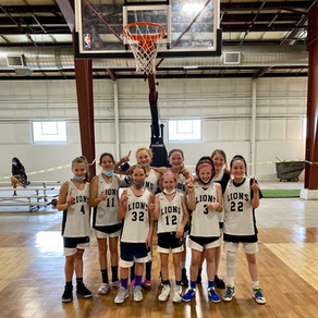 Lions Roar to T.B.C. Girls ABA Division Title