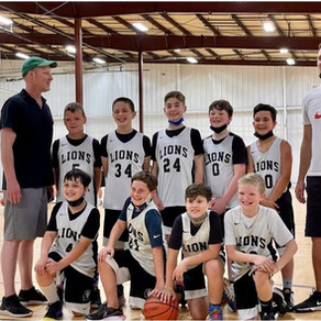 Lions win T.B.C. ABA West (5th) Title: Program's Second Title at TBC Championships