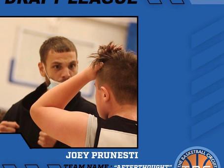 Joey Prunesti to Coach in KB3 Summer Draft League