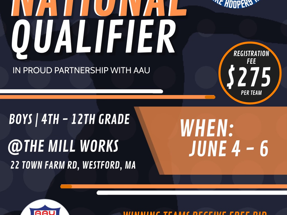 T.B.C. AAU National Qualifiers Tip-Off Friday