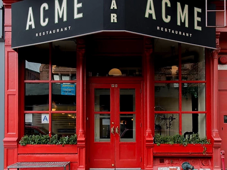 Acme: New Yorkers Hip Restaurant