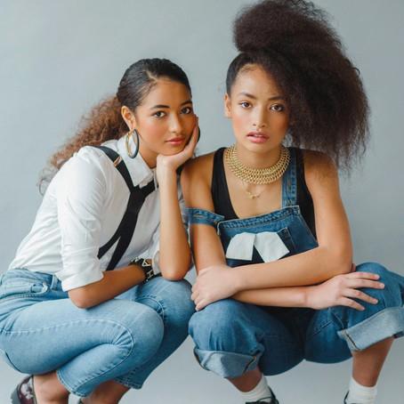 Sister Models: Leila & Athena Katoanga