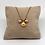 Thumbnail: Collier Goutte dorée rose poudré