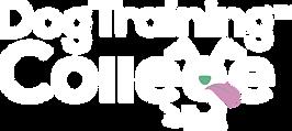 The Dog Training College Logo-white-clea