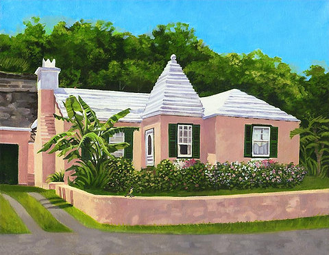 Vaynor Cottage Mini Print
