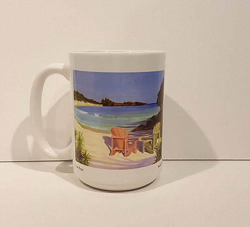 Horseshoe   Oceanfront Mug