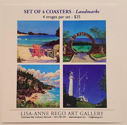 Landmarks Set of 4