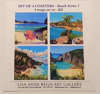 Beaches Set of 4