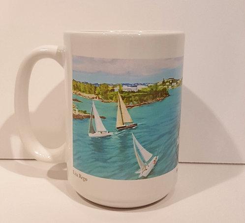 Bermuda Aerial I Mug