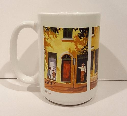 Yellow Doors Mug