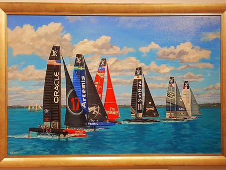 New America's Cup Image 'Flight' completed!