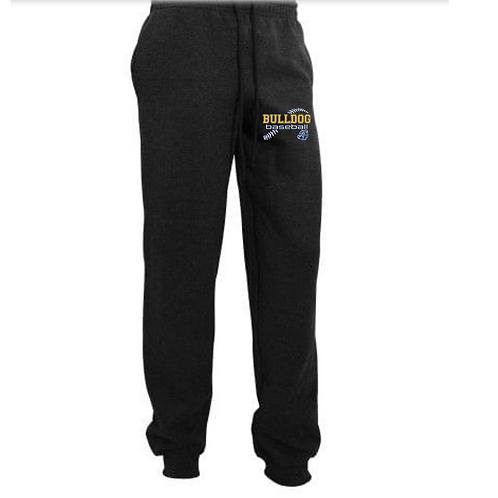 Gildan Mens Heavy Blend Cuffed Jogging Bottoms/Sweatpants (small design)