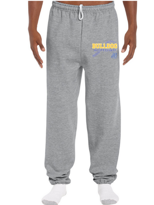 Gildan Adult Sweatpants Elastic Cuff (small design)