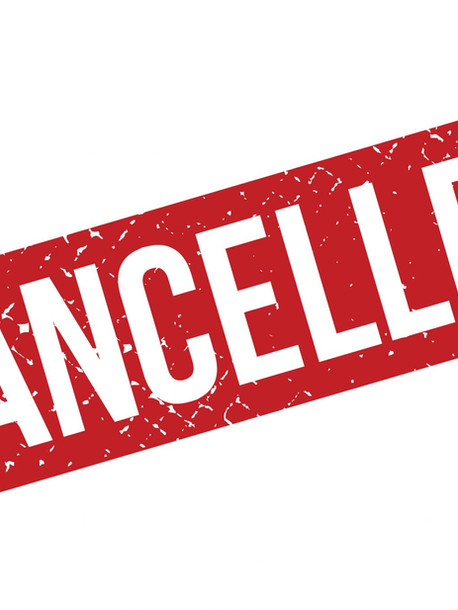 All Events Cancelled