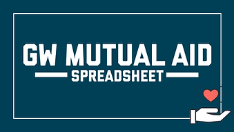GW Mutual Aid Spreadsheet