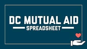 DC Mutual Aid Spreadsheet