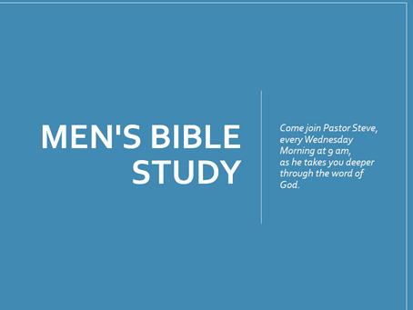 Men's Weekly Bible Study