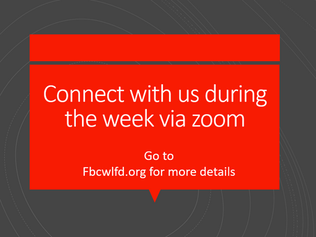 Connect with us Via Zoom
