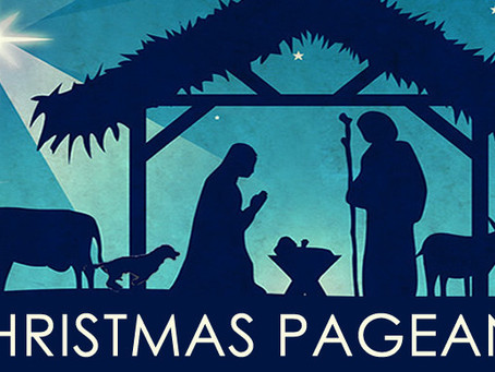 Christmas Pageant Held During Worship on December 15
