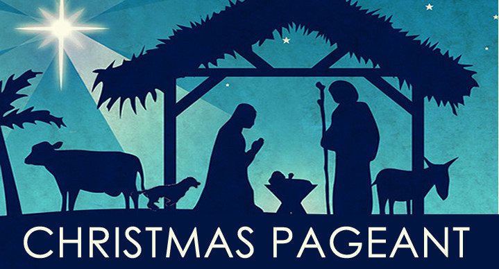 Christmas pageant at FBC Wallingford on December 15