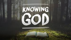 """New Sermon Series from Pastor Steve Knott on """"Knowing God"""""""